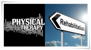 Physical therapy and Rehabilitation together image